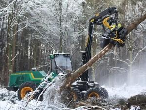AFM on wheeled harvesters